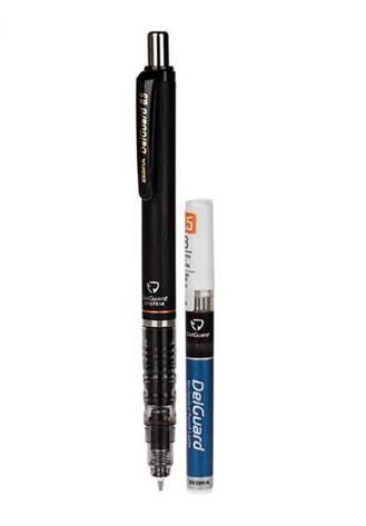 مداد نوکي 0.5 ميلي متري زبرا مدل دلگارد به همراه يک بسته نوک | Zebra Delguard 0.5mm Mechanical Pencil With one pack of Lead