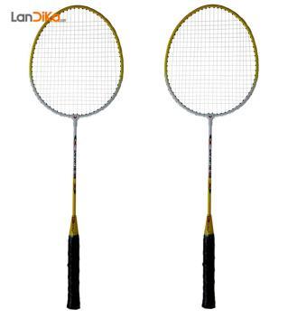 راکت بدمینتون ول کولد مدل HK-105 بسته 2 عددی | Wellcold HK-105 Badminton Racket Pack Of 2